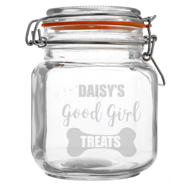 Good Girl Treats Glass Kilner Jar