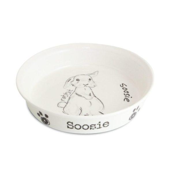 Scribble Rabbit Bowl