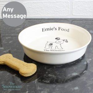 The Snowdog Pet Bowl