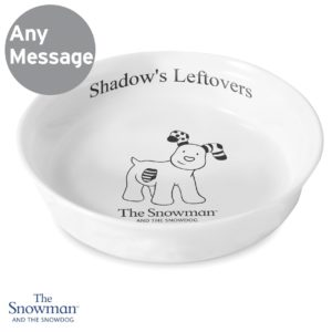 The Snowdog Pet Bowl