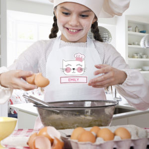 Cat Children's Apron