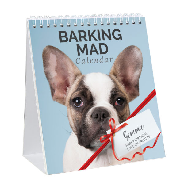 Barking Mad Dog Desk Calendar