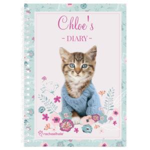 Rachael Hale Cute Kitten A5 Diary