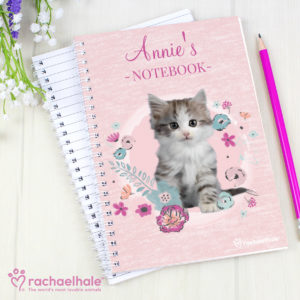 Rachael Hale Cute Kitten A5 Notebook