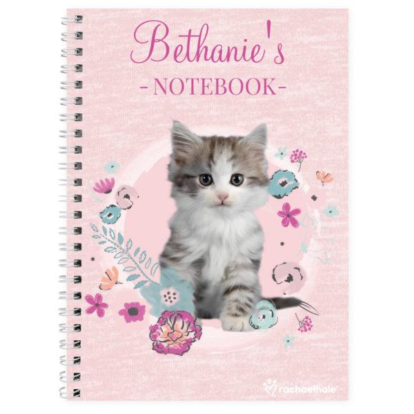 Rachael Hale Cute Kitten A5 Notebook