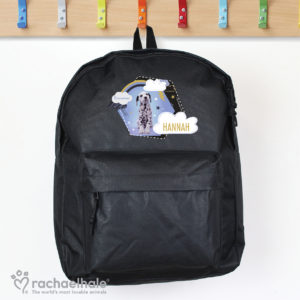 Rachael Hale Dalmatian Black Backpack