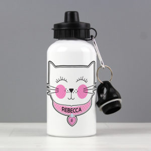 Cute Cat Drinks Bottle