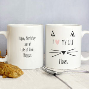 Cat Features Mug