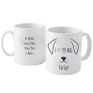 Dog Features Mug