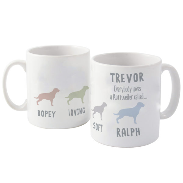 Rottweiler Dog Breed Mug