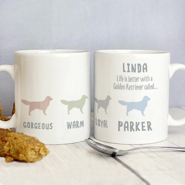 Golden Retriever Dog Breed Mug