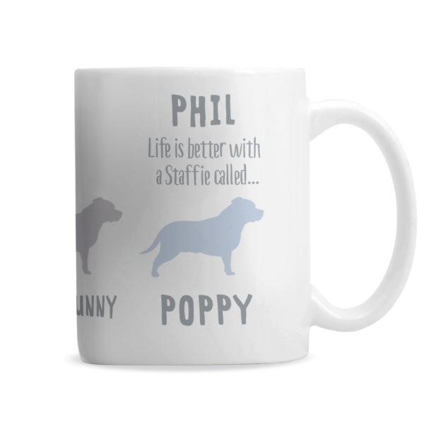 Staffordshire Bull Terrier Dog Breed Mug