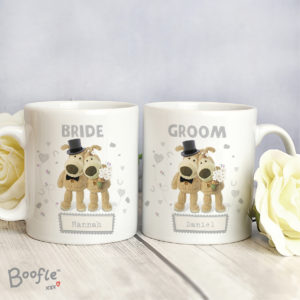 Boofle Wedding Couple Mug Set