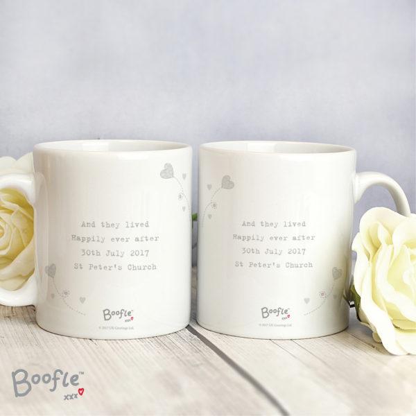 Boofle Wedding Couple Mug Set