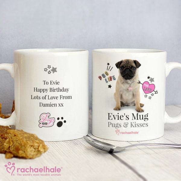 Rachael Hale Doodle Pug Mug