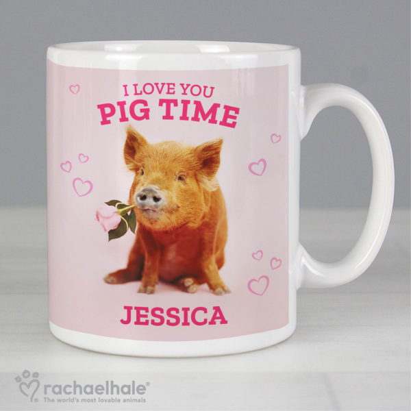 Rachael Hale 'I Love You Pig Time' Mug