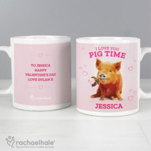 Rachael Hale 'I Love You Pig Time' Mug