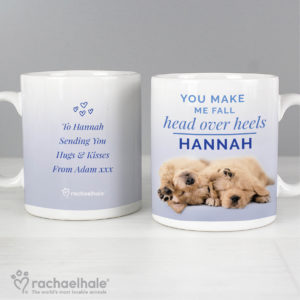 Rachael Hale Head Over Heels Puppy Mug