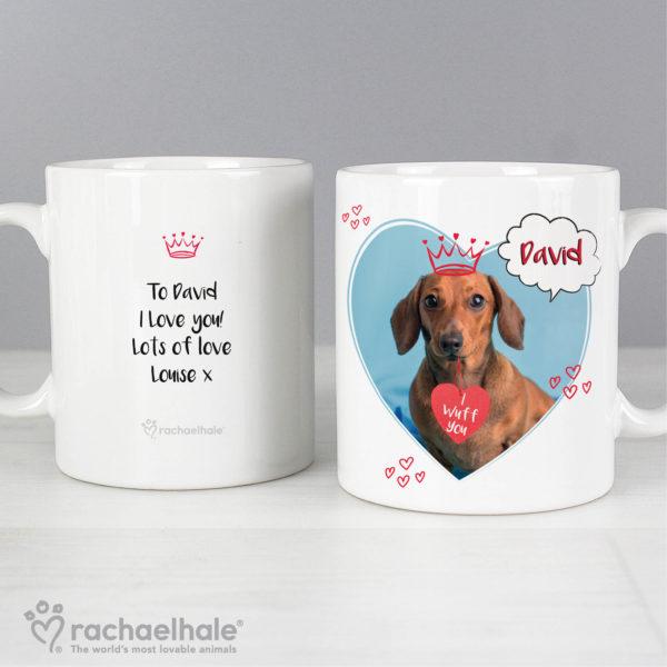 Rachael Hale 'I Wuff You' Mug