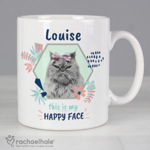 Rachael Hale 'Happy Face' Cat Mug