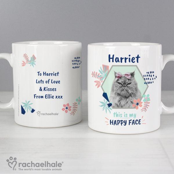 Rachael Hale 'Happy Face' Cat Mug