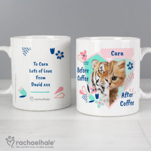 Rachael Hale 'Before Coffee/After Coffee' Cat Mug
