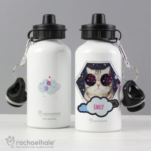 Rachael Hale Space Cat Drinks Bottle