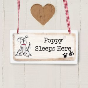 Dog Wooden Sign