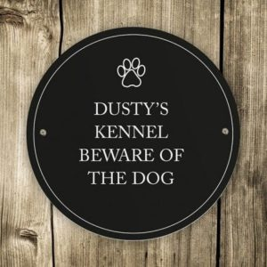 Paw Prints Pet Sign