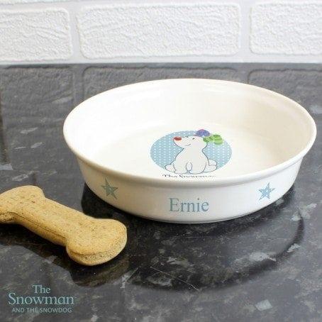 The Snowdog Blue Dog Bowl